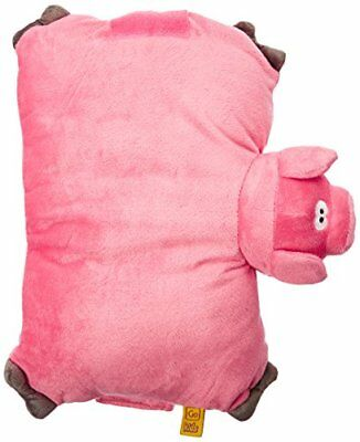 Go Travel Childrens Kids Foam Fleecy Washable Neck Pig Toy Pillow Ref 2692
