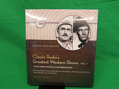 Classic Radio's Greatest Western Shows, Volume 1 (Classic Radio Collection)
