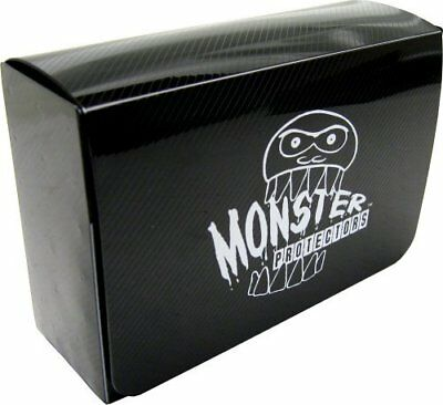 Monster Protectors Trading Card Double Deck Box With Self-Locking Magnetic Closu