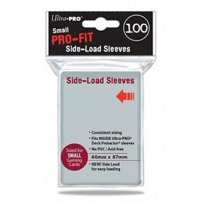 Ultra Pro UPR84650 Pro-Fit Small Size Side Load Deck Protector Sleeves 100 Pack