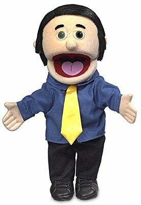 George, Peach Dad  Businessman, Hand Puppet, 40cm