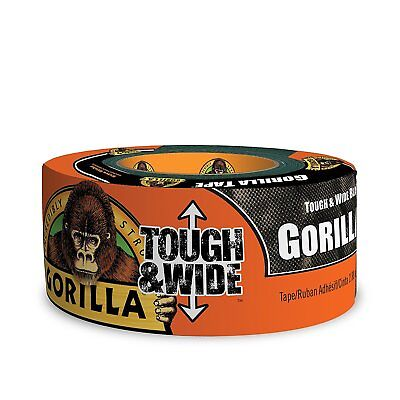 Gorilla Glue 6003001 Tough & Wide Duct Tape, 2.88-Inch x 30-Yards