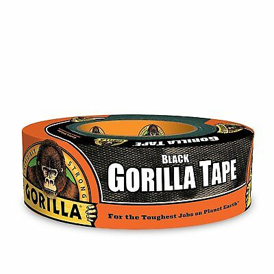 "Gorilla Glue 6035180 Black Duct Tape, 1.88"" x 35 yd"