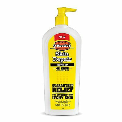 Gorilla Glue K0120002 O'Keeffe's Skin Repair Body Lotion, Pump Bottle, 12 oz