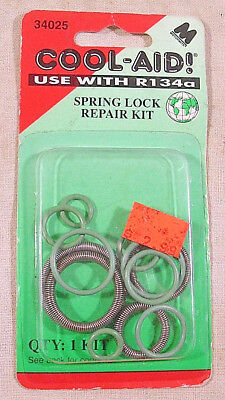 COOL-AID! USE WITH R134a,Spring Lock Repair Kit,Part # 34025