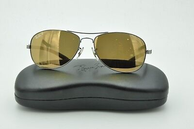 411350bc89 Ray Ban RB 8301 Sunglasses 004 N3 Gunmetal   Gold Mirror Polarized Lenses  56mm