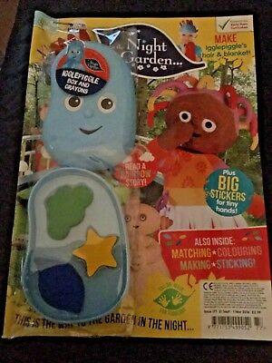 In The Night Garden Magazine #177- FREE GIFT! (NEW) igglepiggle box and crayons