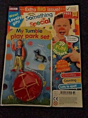 CBeebies Mr Tumble Something Special Magazine #64 my tumble play park set