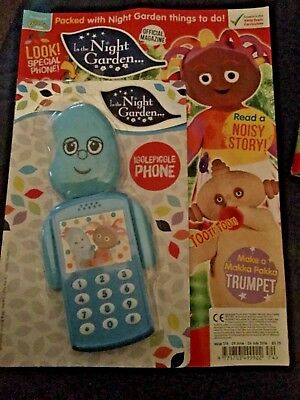 In The Night Garden Magazine #174- FREE GIFT! (NEW) igglepiggle phone