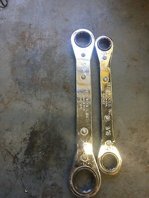 Klein Tools Reverse Ratcheting Wrenches Double Box End