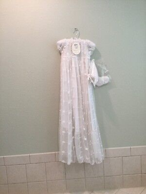 April Cornell Lace Christening Gown