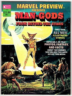 Marvel Preview Presents #1 1975 Vf 8.0 Marvel Man-Gods Neal Adams Cover