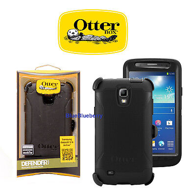Otterbox Defender Series Case for Samsung Galaxy S4 Active ONLY + Belt Clip