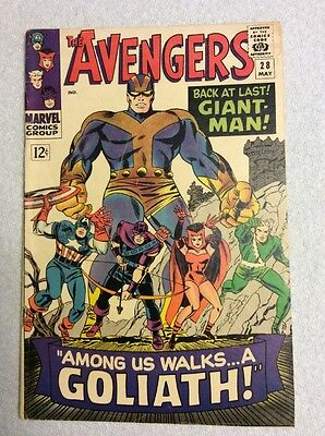 The Avengers #28 (May 1966, Marvel)