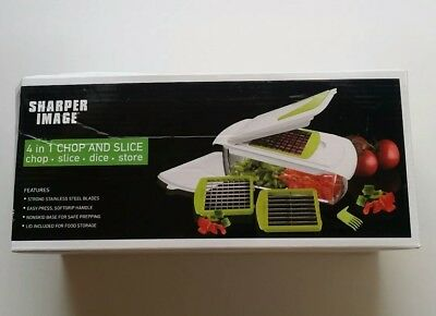 The Sharper Image 4 In 1 Chop And Slice 1299 Picclick