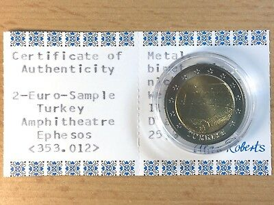 2 Euro Sample Turkey Amphitheatre Ephesos