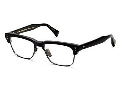 DITA GRAND RESERVE TWO DRX 2061-A 52mm Matte Black Silver Men Eyeglasses Frames