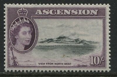 Ascension 1956 QEII 10/ mint o.g.