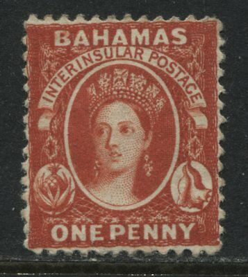 Bahamas QV 1863 1d red mint o.g.