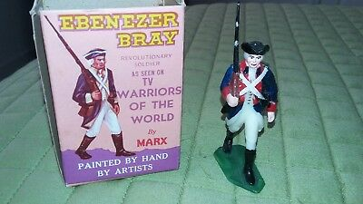Marx Warriors of the World Revolutionary Soldier ~ Ebenezer Bray  with  Box