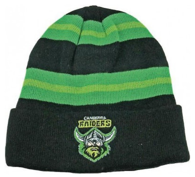 Canberra Raiders NRL Wozza Winter Beanie! BNWT's!