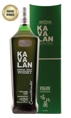 Kavalan Concertmaster Port Cask Finish Single Malt Whisky 700ml(Boxed)