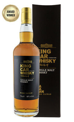 Kavalan King Car Conductor Single Malt Taiwanese Whisky 700ml(Boxed)