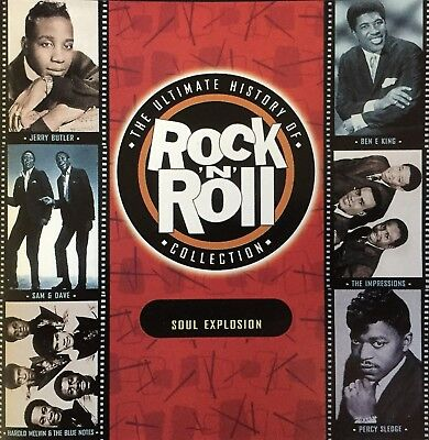 The Ultimate History Of Rock 'n' Roll Collection CD Capitols  Sam And Dave