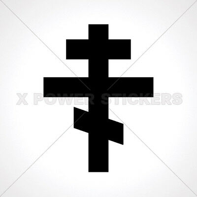 Decals Decal Byzantine Eastern Orthodox Cross Store 0502 03640