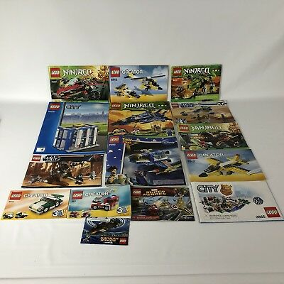 50 Lego Manuals Lego Instructions Star Wars Creatorcityninjago