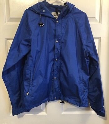 Vintage Rare The North Face Brown Label Mens Jacket Size Large Rain Gore-Tex
