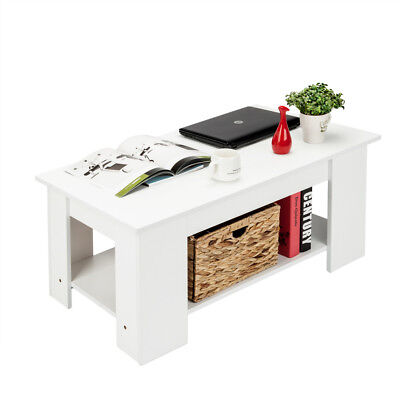 White Lift Up Coffee Table.Lift Up Top Coffee Table Hidden Storage Compartment White Furniture Living Room