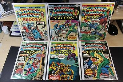 CAPTAIN AMERICA #183 - #202 COMPLETE - FN- to VF- CONDITION