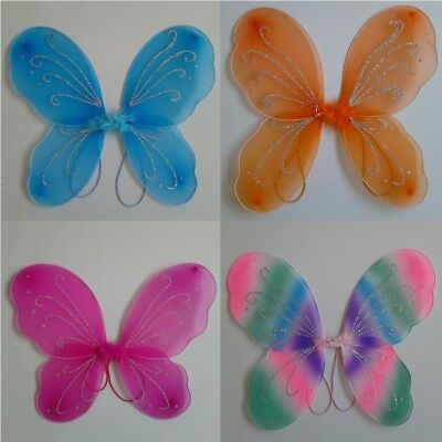 Kid Baby Butterfly Fairy Angel Wings Child Birthday Party Halloween Costume Gift
