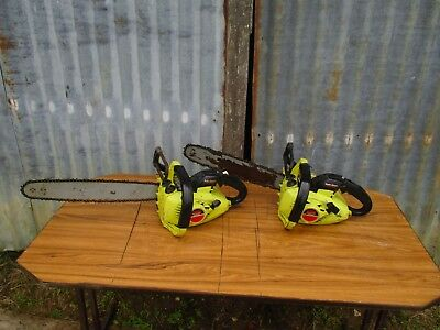 2 x Vintage Partner 1616 Deluxe Chainsaw...Worldwide Shipping