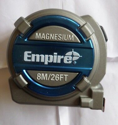 Magnesium Empire 8M/26Ft Tape Measure (4892210140326)