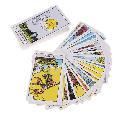 The Rider Tarot Deck Board Game 78 PCS/Set Boxed Playing Card TarotRiderwaite.Y5