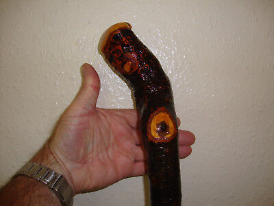 Blackthorn  Walking Stick  -   Rootball  Knob Stick .    Massive   Shillelagh .