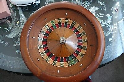 22 Inch Antique Roulette Wheel late 1930's era