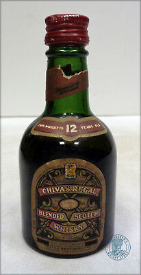 Miniature / Mignon Scotch Whisky CHIVAS REGAL 12yo (n)