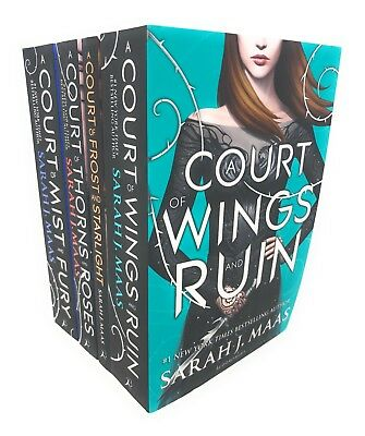 A Court Of Wings And Ruin Series Collection 4 Books Set Sarah J. Maas ...