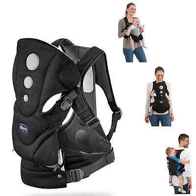 New Chicco Close To You Baby Carrier Ombra Three Ways To Wear Ergonomic Design