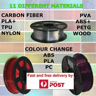 3D printer filament PETG, PLA, PLA+, ABS+, TPU, Nylon, Polycarbonate, Carbon fib