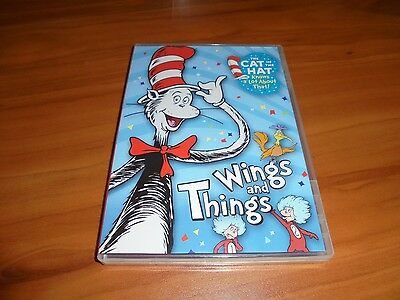The Cat in the Hat Knows a Lot About That: Wings and Things (DVD, 2010) Used