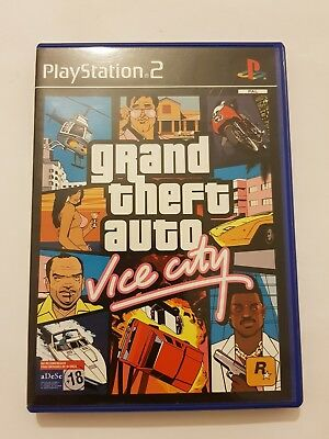 GTA VICE CITY Grand Theft Auto:Vice City PlayStation 2 ps2 pal España  COMPLETO