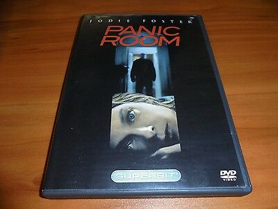Panic Room (DVD, 2006, Widescreen) Jodie Foster, Forest Whitaker Used