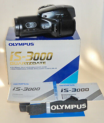 Olympus Is 3000 Quartzdate 35Mm Film Bridge Camera Mit 35Mm-180Mm~F4.5-5.6