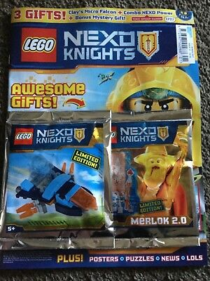 LEGO Nexo Knights Issue 21 Exclusive Merlok 2.0 Mini-Figure