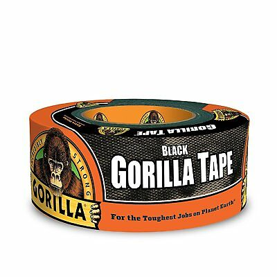 "Gorilla Glue 6001203 Gorilla Duct Tape, 1.88"" x 12 yd, Black"