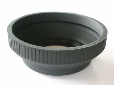 62Mm Collapsible Rubber Lens Hood Quality Metal Mount